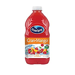 Ocean Spray Cranberry Mango Juice Drink, 64 Fluid Ounce (Pack of 8) |
