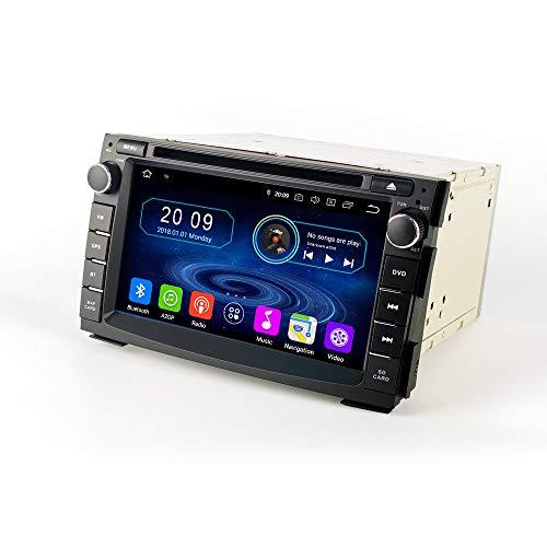 mächtig der welt TAFFIO® Android 9.0 Autoradio Touchscreen GPS Navi Bluetooth WiFi DVD USB SD für Kia Cee'd Venga