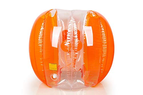 X-Shot Zuru Bubble Ball 120cm Zorb Bumper Fußball Zorbing Kugel Knockerball (orange)