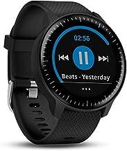 Garmin Vivoactive 3 Music, GPS Smartwatch with Music Storage, Wi-Fi, Black with Stainless Hardware- Worldwide(Renewed)
