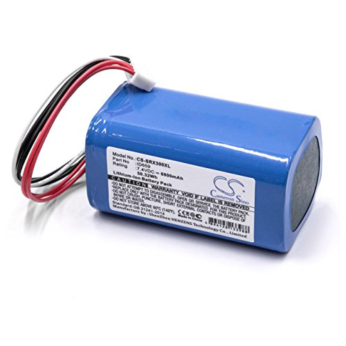 vhbw Batería Recargable Compatible con Sony SRS-X30, SRS-XB3 Altavoces, Cajas acústicas, bafles (5200 mAh, 7,4 V, Li-Ion)