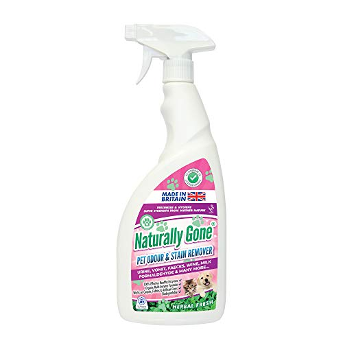 Naturally Gone Pet Odour Eliminator by Airpure, Heat Sealed Cap, Enzyme...