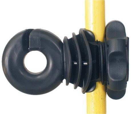 50Stück. Isolator für Pfosten aus Metall–ivabloc Lacme-Isolator für elektrischen Zaun