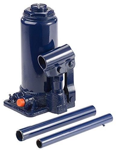 Lescars Hydraulikwagenheber: Hydraulischer Wagenheber bis 6 t, Hubhöhe 20-38 cm, mit Koffer (Stempelwagenheber)