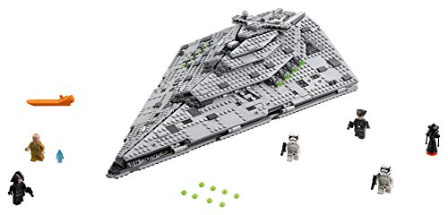 LEGO Star Wars Croiseur Premier Ordre Star Destroyer First Order 75190 - 1416 Pièces - 1