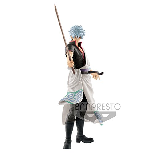 BANPRESTO Gintama Katsugeki Kabukicho Gintoki Sakata 20cm PVC Figure Statue