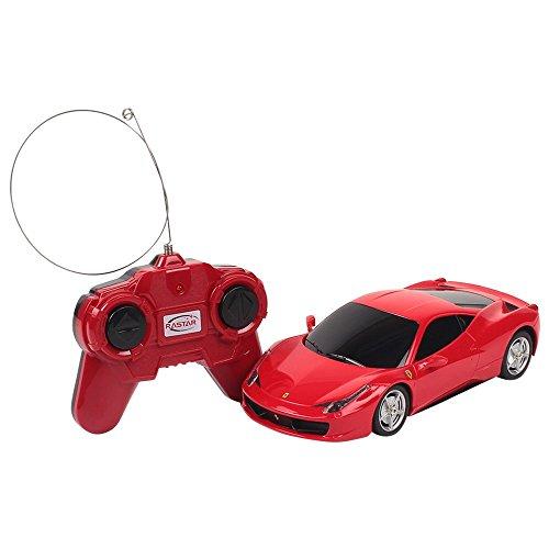 Rastar - 004660 - Radio Commande - Voiture - Ferrari 458 Italia - Echelle 1:24 - Coloris aléatoire