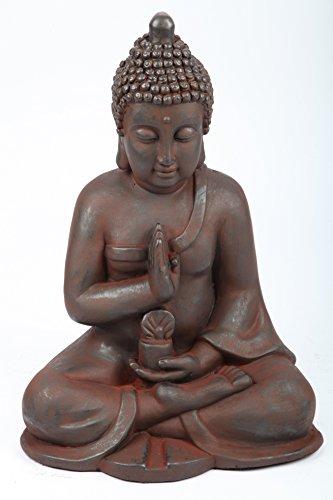 point-garden Buddha sitzend, H 50 cm