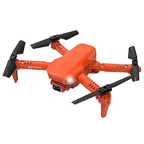 4K Fotocamera Singola Fotocamera Aerea Quadricottero Telecomando Droni Modello di Elicottero Aereo Telecomando per Bambini, Funzionamento Facile, Registrazione Video Record Life Nero