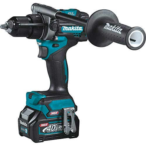 Makita GT200D 40V Max XGT Brushless Lithium-Ion 1/2 in. Cordless Hammer Drill Driver/ 4-Speed Impact Driver Combo Kit (2.5 Ah)