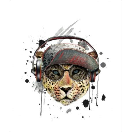 Desconocido Estor Iroa Digital Juvenil Tigre 001 ¡ESTORES ENROLLABLES TRANSLUCIDOS! (160X170)