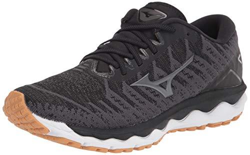 Mizuno Women's Wave Sky 4 WAVEKNIT Running Shoe, Dark Shadow, 8 B US