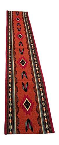 RaaKha now Kinara Cibola Southwestern Design Table Runner, Multi Desert Colors, 13x72 inches