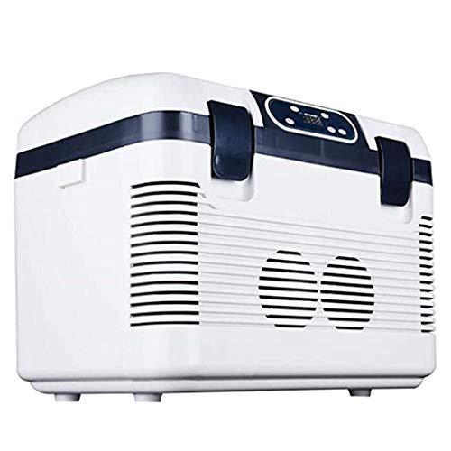 LT 19L Dual-Core autokoelkast, mini-koelkastkoeler en verwarmer voor thuis, op kantoor, auto, woonhuis, compact en draagbaar