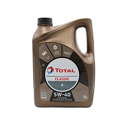 Total 156721 Classic 5W-40 Motorenöl, 5 Liter