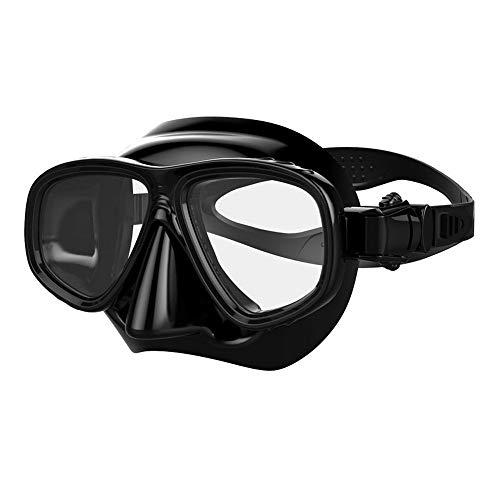 LCBYOG Equipo de Buceo Mascarilla de Buceo Adulto Scuba Gafas de natación Cara Completa Fundición Nadada Unisex Gafas De NatacióN (Color : A)