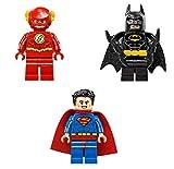 LEGO Superheroes Justice League Lot 2: Superman Flash and Batman