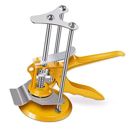 Localizador de baldosas Regulador de nivel de baldosas de pared, Herramienta de elevación de baldosas, Regulador de altura de baldosas, Nivelador de elevación de baldosas