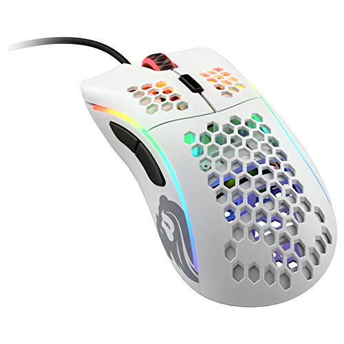 Glorious PC Gaming Race Model D Gaming-Maus - weiß, matt