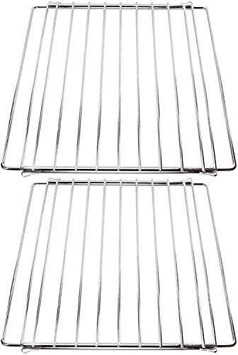 SPARES2GO Adjustable Extendable Small Oven Shelf for Britannia Range Oven Cooker (Pack of 2)
