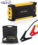 Fabtec 69800mAh 12V with LED Flash Dual USB Car Jump Starter Booster Portable