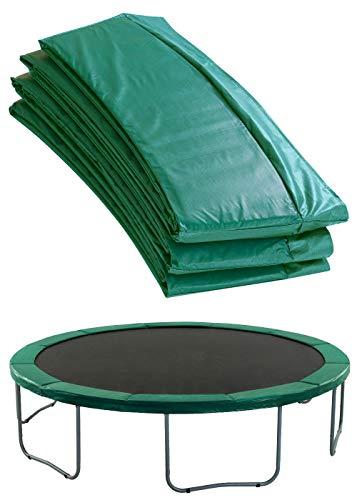 Upper Bounce Cubierta de Protección para Bordes de Repuesto (Cubre Resortes Muelles) para Cama Elástica Trampolín Redondo 4.57 m Cerco 25.4 cm Verde