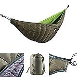 Ruixf Hamaca de Invierno Underquilt, Camping de Invierno Saco de Dormir Debajo de la Colcha Manta Ultralight Underquilt
