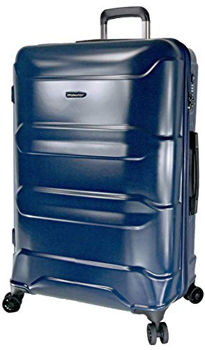 METZELDER TRIOMPH Elegance Hard Case Brute 1 Year Guarantee (Blue (Blue), L - Large - 106L - 75x51x31cm - 4.2kg)