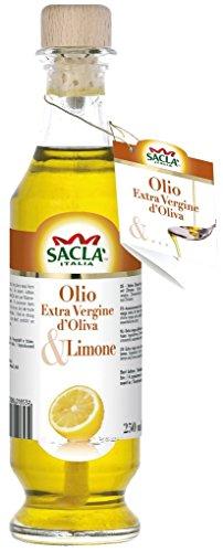 Sacla - Natives Olivenöl extra mit Zitrone - 250ml