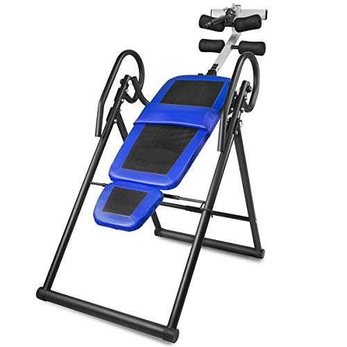 Check Out This VeenShop Health Inversion Table Pro Deluxe Fitness Chiropractic Table Exercise Back R...