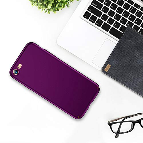 TORRAS Slim Fit iPhone 7 Case/iPhone 8 Case/iPhone SE Case 2020, Full Protective Anti-Scratch Resistant Cover Case Compatible with iPhone SE 2nd Generation/iPhone 7/ iPhone 8, Violet Red