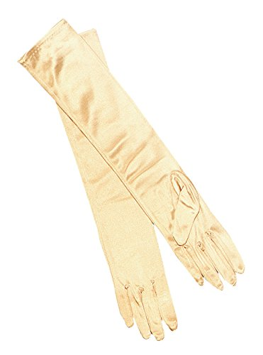 Gloves. Lame Gold
