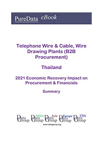 Telephone Wire & Cable, Wire Drawing Plants (B2B Procurement) Thailand Summary: 2021...