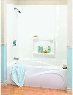 Maax USA Inc - 5Pc White Tub Wall Kit