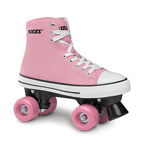 Roces Damen Rollerskates Chuck Classic Roller, Pink-White, 42, 550030-002