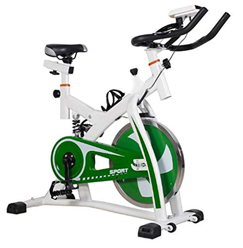 Lcyy-Bike Bicicletta Trainers Manuale Resistenza Regolabile 6 kg Volano Cardio Allenamento con Display Multifunzionale E Ammortizzatore A Molla Manubrio Regolabile E Altezza del Sedile