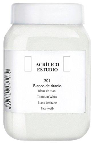 Lienzos Levante Pintura Acrílica Estudio, 201 Blanco de Tit