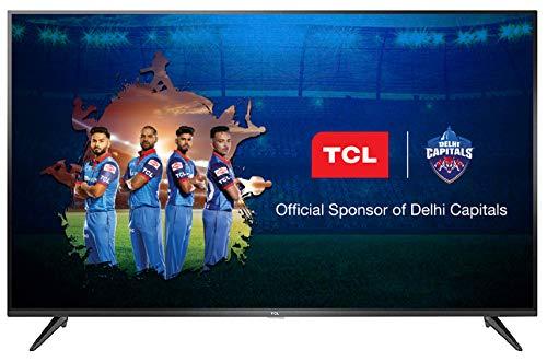 TCL 107.88 cm (43 inches) 4K UHD Smart LED TV 43P65US (Black)