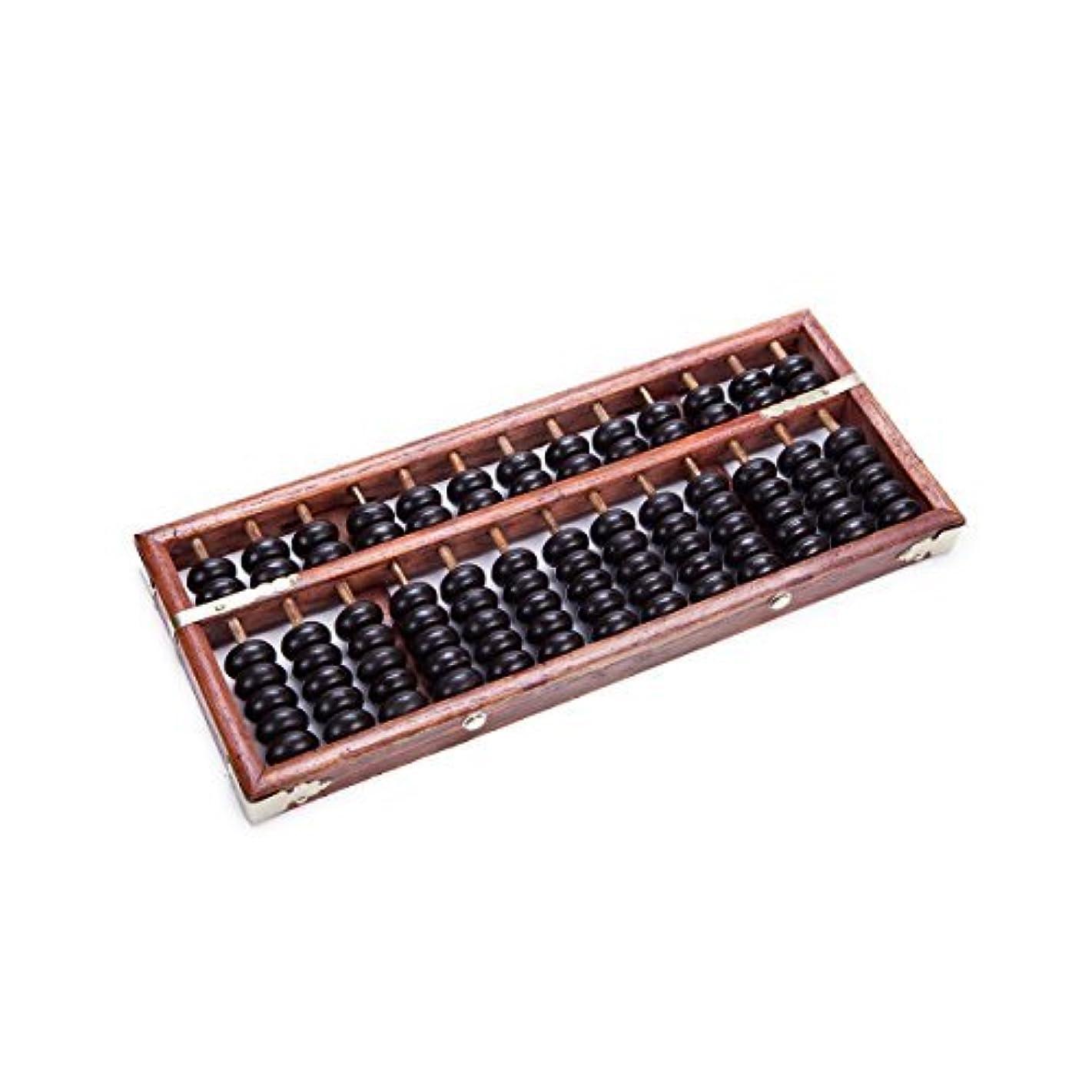 国民投票麻痺させる元のVintage-Style 13 Digits Rods Wooden Abacus Soroban Chinese Calculator Counting Tool 11 [並行輸入品]