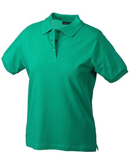James & Nicholson JN 071 - Polo da donna, S M L XL XXL verde Irlanda XXL