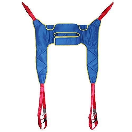 Z-SEAT Patient Lift Sling Lifter, Toilettenschlingen-Transfergürtel Ganzkörperschlinge für den Transfer vom Bett zum Rollstuhl, zur Liege, zum Duschstuhl oder zur Toilette