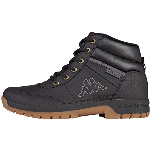 Kappa Unisex-Erwachsene BRIGHT MID LIGHT Combat Boots, Schwarz (1111 black), 42 EU