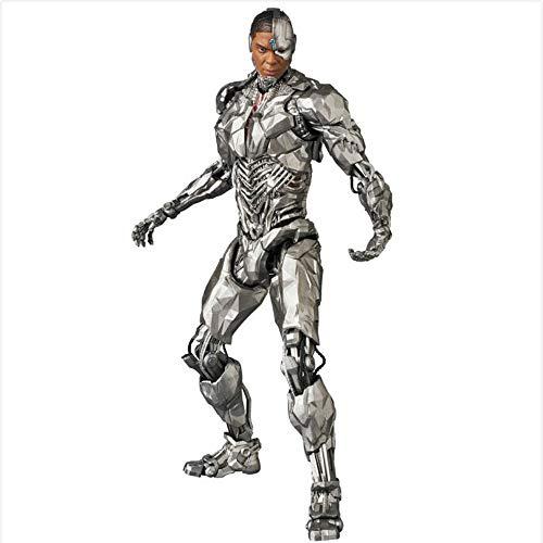 DC Comics Figura Batman Articulados Superman Aquaman Muneco Liga de La Justicia Sammlerstucke Cyborg Wonder Woman Regalo De Cumpleanos Juguete para Ninos Cyborg