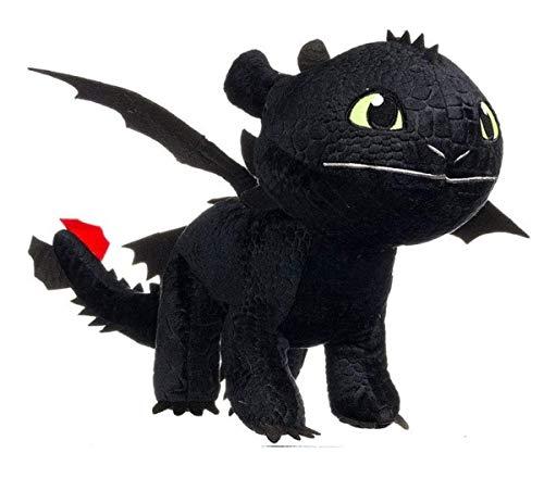 """HTTYD Drachenzähmen leicht gemacht - Dragons - Plüsch Figur Kuscheltier Drachen Ohnezahn Toothless 11\""""/30cm - 76001661-1"""