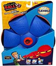 Goliath Games Phlat Ball V3 (Dark Blue and Red)