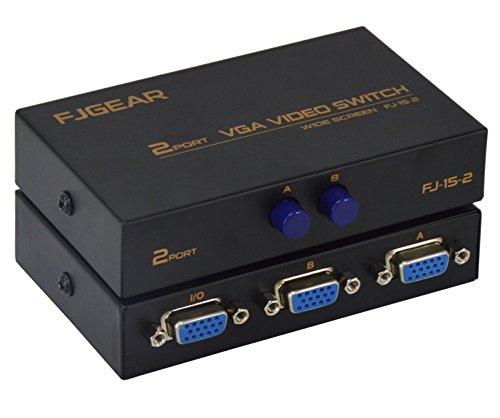 SATKIT VGA Switch, conmutador señal VGA 2 Entrada