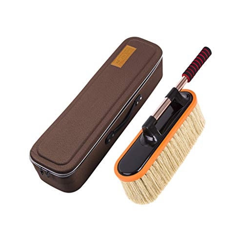 Lvlong Intermediate Car Vacuum Cleaner - The Best Microfiber Multipurpose Duster - Car and Home Interior Use - Professional Detailing Tool - Lint Free - Unbreakable Comfort Handle/55-70cm