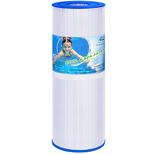 TOREAD Replacement for Spa Filter PRB25-IN, Unicel C-4326, Filbur FC-2375, Pentair R173429, 3005845, 17-2327, 100586, 33521, 25392, 817-2500, Guardian 413-106, 5X13 Drop in Spa Filter, 1 Pack