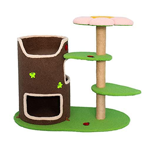 Z-Meng Katzenbaum Mit Swordsma Kratzende Katze Klettern Aktivität Katze Blumenturm Kätzchen Haustier, Indoor Katze Katze Baum