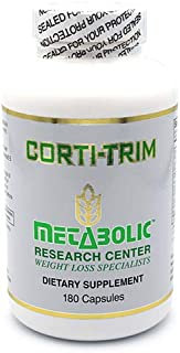 Corti-Trim: Advanced Weight Loss Dietary Supplement by Metabolic Research Center, 180 Count